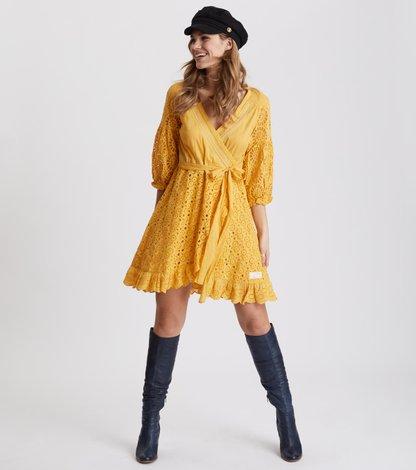 two-step flow dress