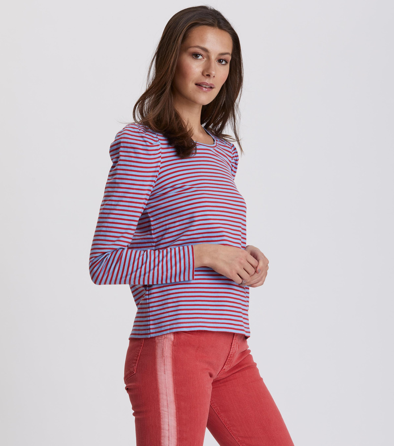 miss stripes top