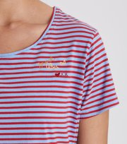 Odd Molly - miss stripes tee - BRIGHT BLUE