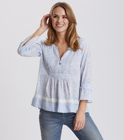 flowering spirit blouse