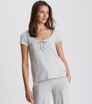 Odd Molly - lazy sundays top - LIGHT GREY MELANGE