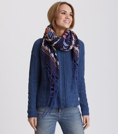 flower flow scarf