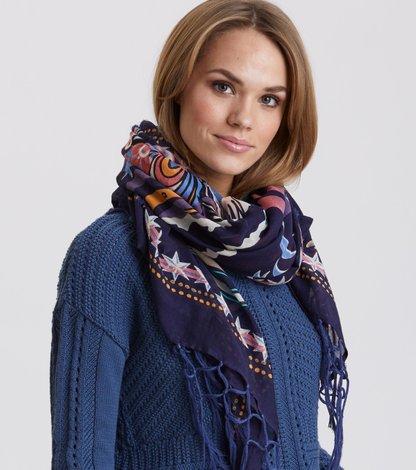 flower flow scarf