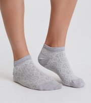 Odd Molly - odd sock - GREY LOVELY