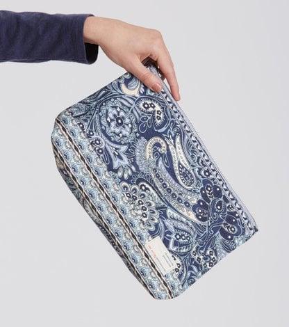 paisley beauty bag