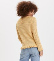 Prancing Flower Sweater