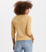 Odd Molly - prancing flower cardigan - GOLDEN BISCOTTI