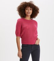 Odd Molly - lindy hopping sweater - BRIGHT ROSE