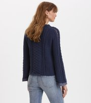 Odd Molly - glory days knit sweater - DARK BLUE
