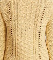 Odd Molly - glory days knit sweater - GOLDEN BISCOTTI