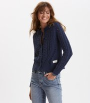 Odd Molly - glory days knit cardigan - DARK BLUE