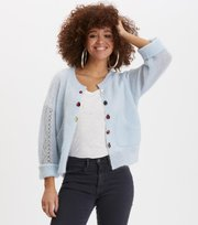 Odd Molly - choice maker cardigan - AIR BLUE