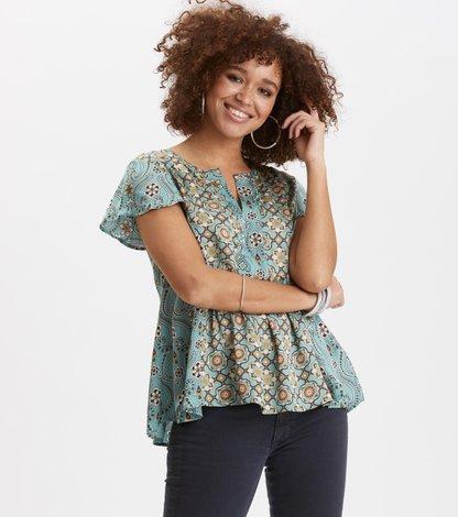 funky belle blouse