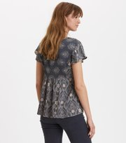 Odd Molly - funky belle blouse - DARK SHADOW