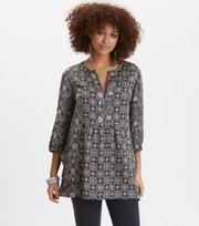 Odd Molly  - funky belle tunic - DARK SHADOW