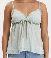 Odd Molly - facile flower top - FROSTY GREEN