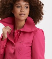 Odd Molly - the scoop coat - HOT PINK
