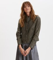 Odd Molly - frill rider jacket - FADED CARGO