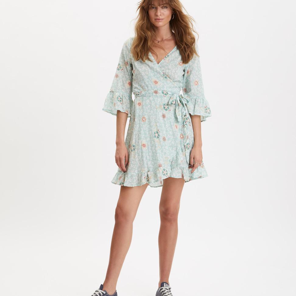 c9b188ceda8 Lush Shake Wrap Dress ...