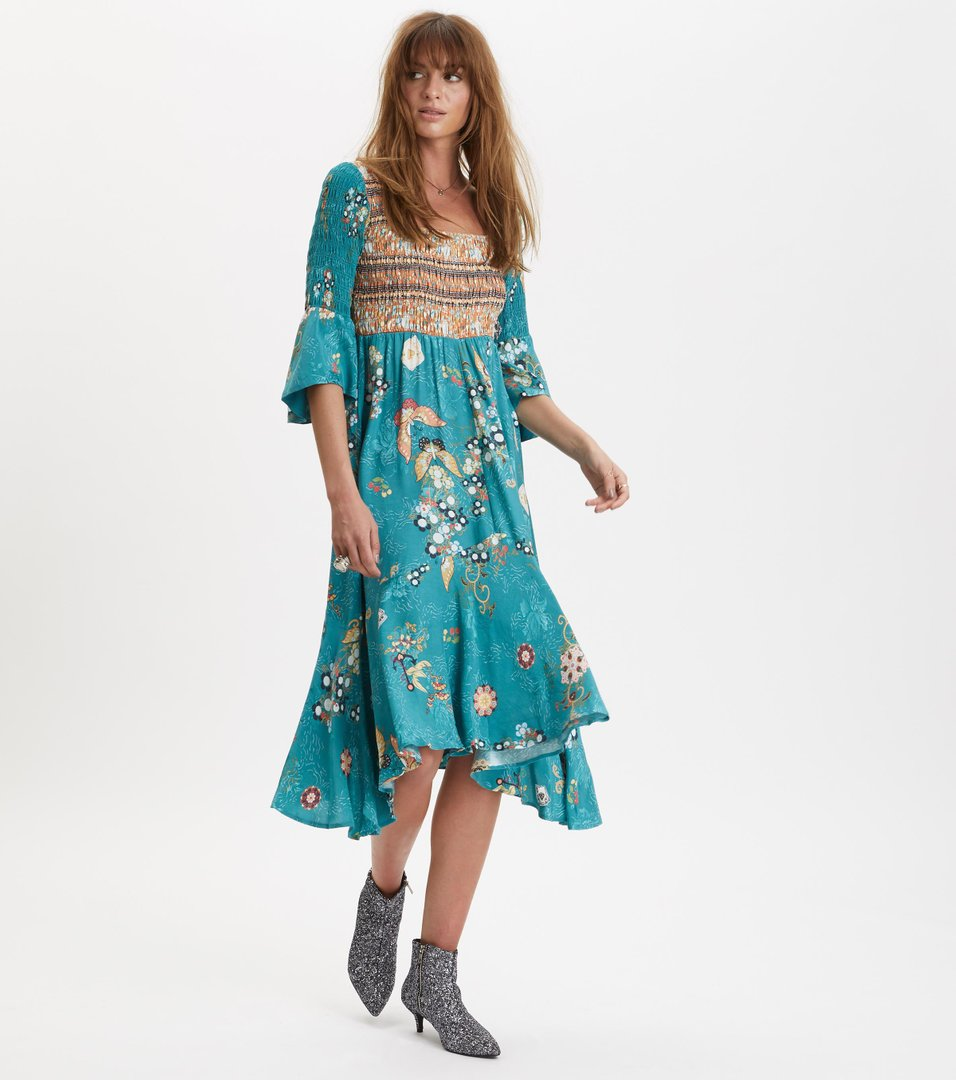 paradise groove long dress