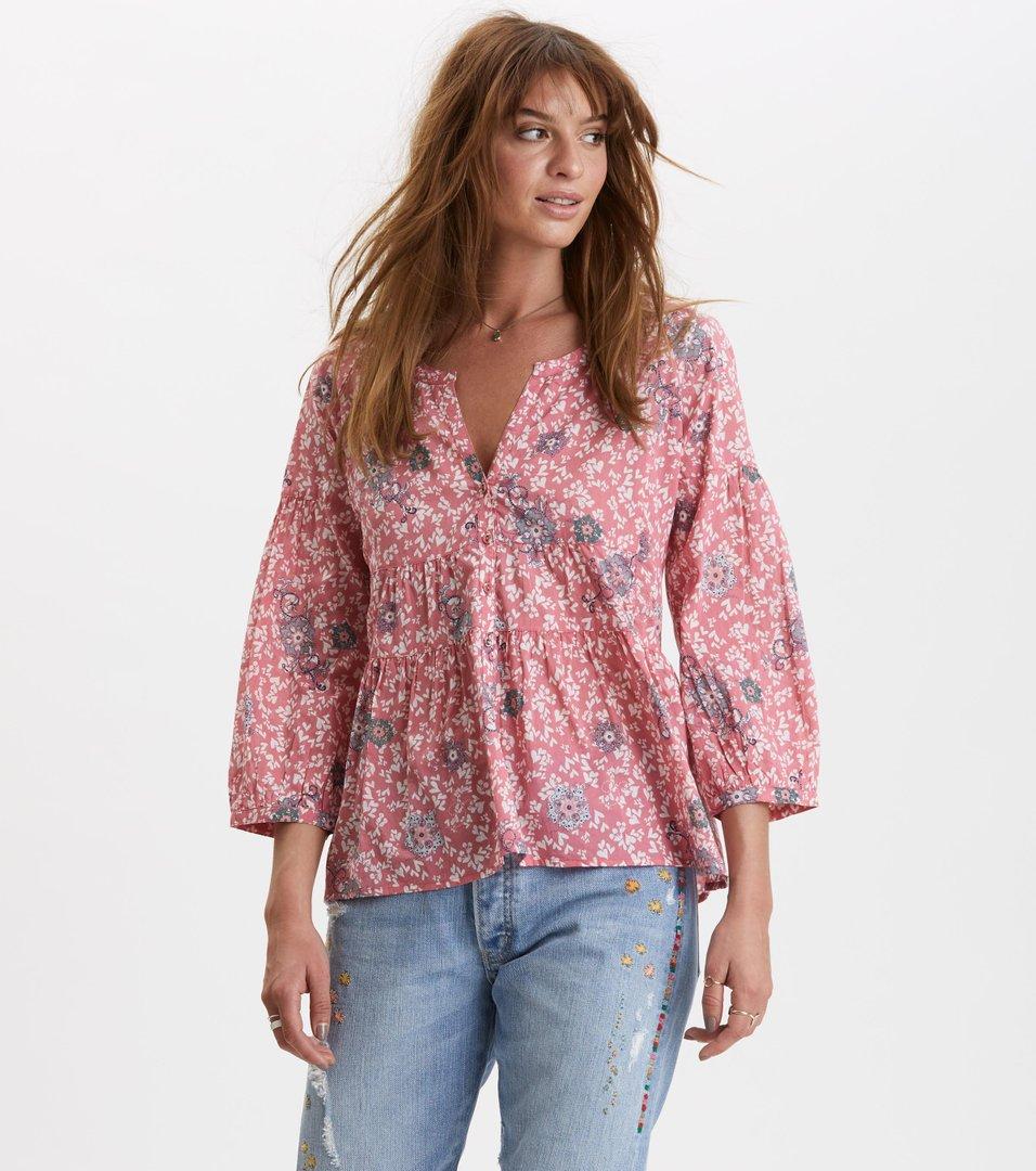 eb434b8c Odd Molly - lush shake blouse - BLUSH PINK