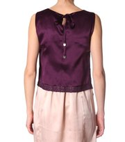 Odd Molly - flyhigh sleeve less blouse - VIOLET