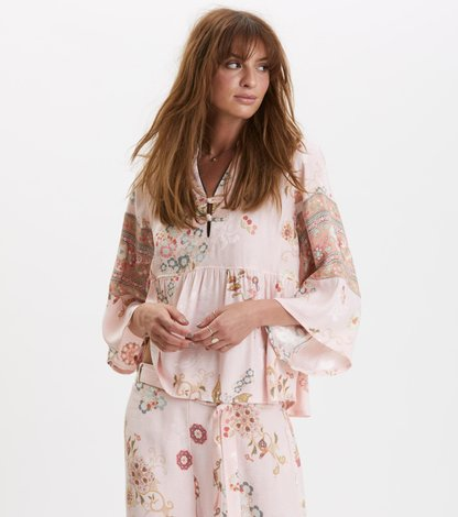 paradise groove blouse