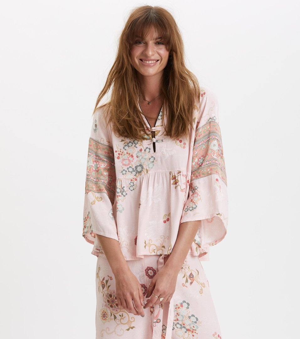 31053ffb7654 Odd Molly - paradise groove blouse - ORCHID PINK