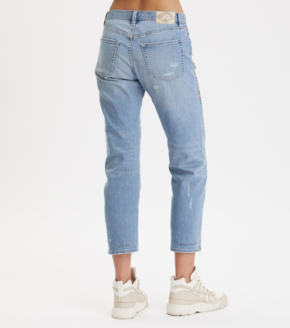 ae97e2a1e0cb4e Odd Molly - peace player denim jeans - LIGHT BLUE