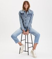 Odd Molly - peace player denim jeans - LIGHT BLUE
