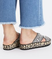 Odd Molly - walkability slipper - BLACK