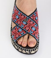 Odd Molly - walkability slipper - MULTI ORCHID