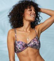 Odd Molly - wavemakers bandeau bikini top - MULTI ORCHID