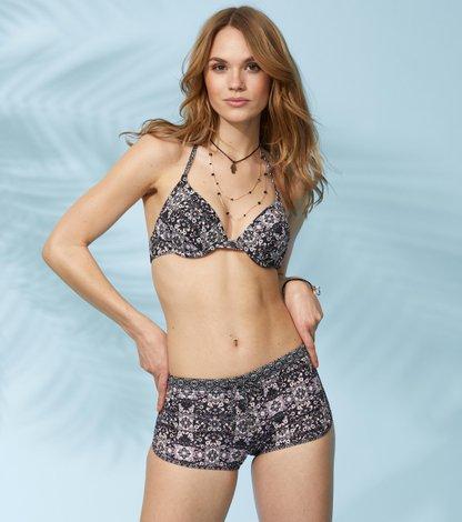 blossom bikini shorts
