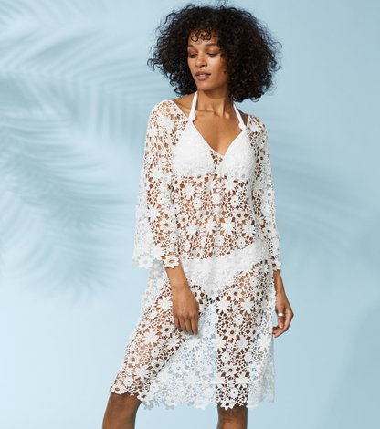 holy lace beach dress