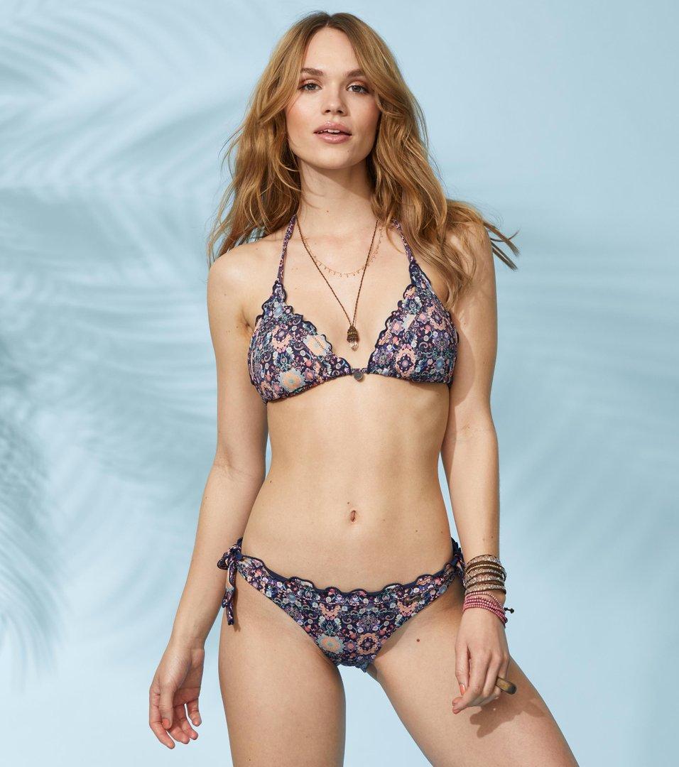 55d60e3a9972c Odd Molly - blossom triangle bikini top - FRENCH NAVY
