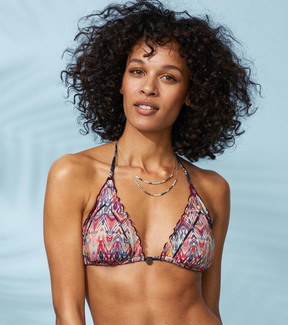 a44c04c19cb3 Odd Molly - mystic triangle bikini top - AZALEA PINK