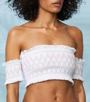 Odd Molly - mystic singoalla bikini top - WHITE