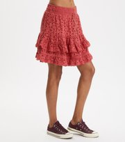 Odd Molly - swag blossom skirt - DUSTED ROUGE