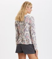 Odd Molly - blossom cardigan - LIGHT PORCELAIN