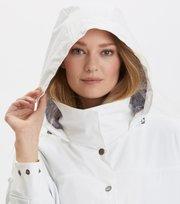 Odd Molly - outstanding rainjacket - LIGHT CHALK