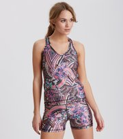 Odd Molly - sprinter shorts - MULTI ORCHID