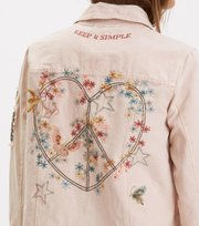 Odd Molly - peace player jacket - ORCHID PINK