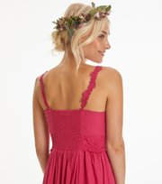 Odd Molly - let's start the ride dress - CHERRY PINK