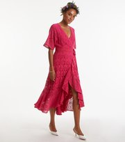 Odd Molly - euphoria dress - CHERRY PINK
