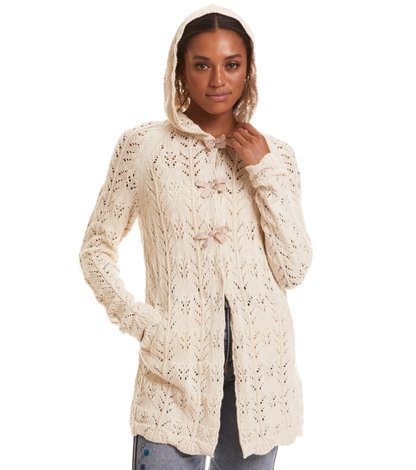 adorable hood cardigan