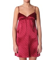 Odd Molly - sigh slip dress - SILKY RED