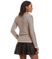 Odd Molly - the knit jacket - LIGHT PORCELAIN