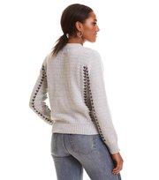 Odd Molly - Der Knit Pullover - LIGHT GREY MELANGE