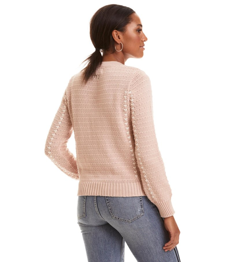 the knit sweater